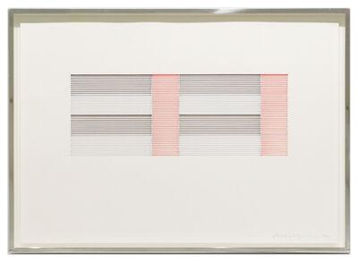 Michael Craig-Martin, 'Untitled (Coloured Venetian Blind Study 3)', 1988