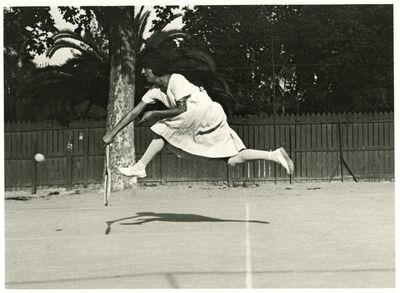 Jacques Henri Lartigue, 'Suzanne Lenglen, Cannes ', 1921