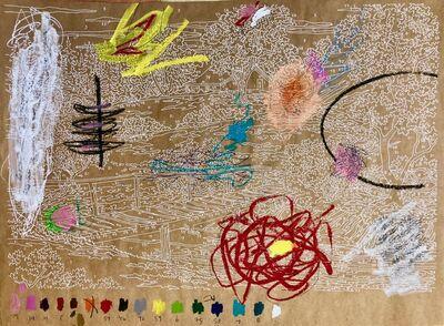 Trey Speegle, 'Abstract Waterfall', 2020