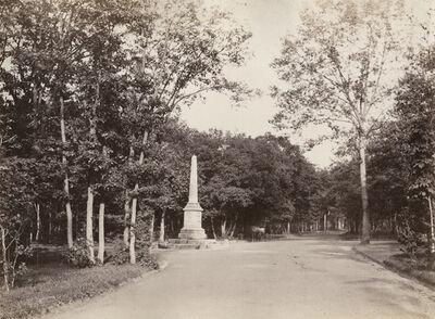 Charles Marville, 'Crois Catalan, Bois de Boulogne', 1858/1858