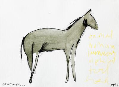 Casey McGlynn, 'Animal Human', 1997