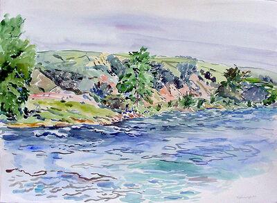 Rebecca Perehudoff, 'Reservoir South Alberta ', 1989