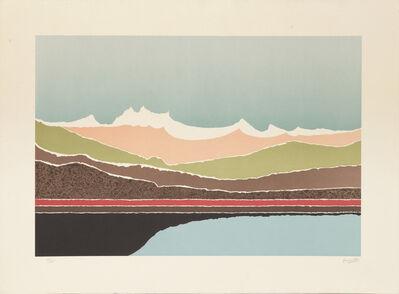 Arthur Secunda, 'Lake', ca. 1980