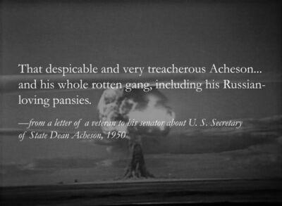 Yevgeniy Fiks, 'Stalin's Atom Bomb a.k.a. Homosexuality, No. 8', 2012