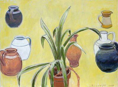 Joseph Plaskett, 'Clivia and Pots', ca. 2012