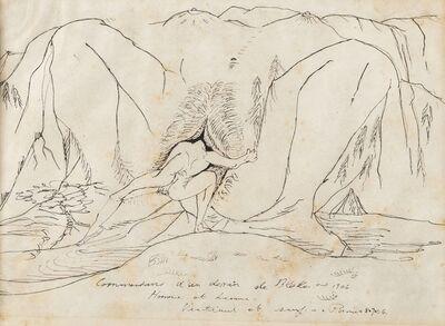 André Masson, 'Homme et Femme [Terre Érotique]', circa 1948