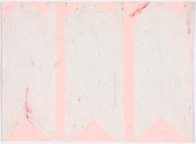 Evelyn Reyes, 'Carrots, White (Same on Pink)', 2004-2009