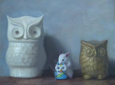 Stuart Dunkel, 'Owl Family Portrait', 2019