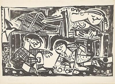 Pablo Picasso, 'La mère et les enfants (Die Mutter und die Kinder)', 1953