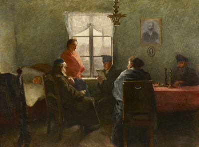 Samuel Hirszenberg, 'The Sabbath Rest', 1894