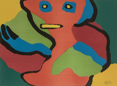 Karel Appel, 'Asking Again', 1974