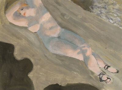 Alfons Walde, 'The Sleep in the Sun', ca. 1925
