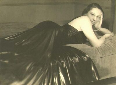 Willy Kessels, 'Woman Reclining in Black Leather Dress', 1934/1934