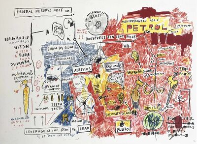 Jean-Michel Basquiat, 'Liberty'