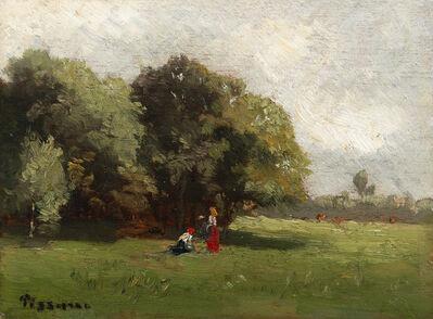 Camille Pissarro, 'Personnages à la lisière', Unknown
