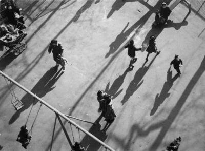 André Kertész, 'Children and Shadows in Park', 1951