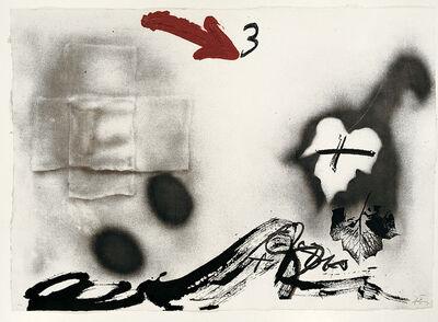Antoni Tàpies, 'Fulles', 1987