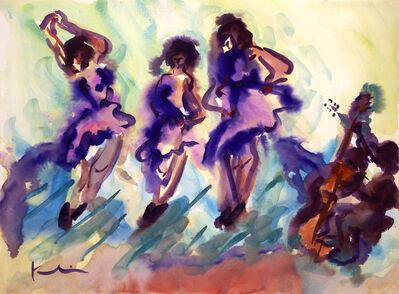 Howard Kline, 'Dancing with a Bass', 1997