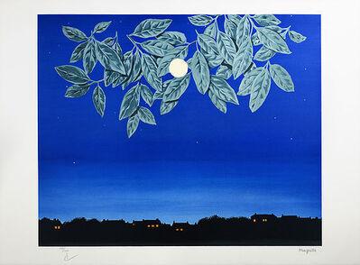 René Magritte, 'La Page Blanche', 2004
