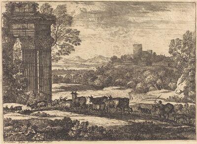 Claude Lorrain, 'The Herd Returning in Stormy Weather (Le troupeau en marche par un temps orageux)', ca. 1650/1651