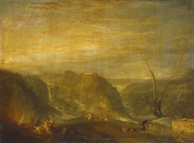 J. M. W. Turner, 'The Rape of Proserpine', 1839