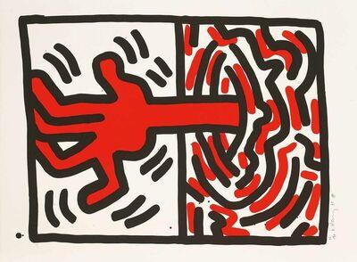 Keith Haring, 'Ludo # 5 ', 1985
