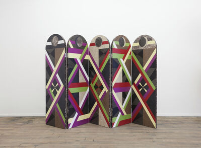 Jojo Chuang, 'Folding Screen from Graphic Utopia', 2014