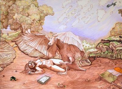 Ursula Burke, 'Leda and the Swan ', 2015