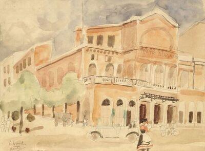 Christopher Wood, 'Teatro Adriano, Rome'