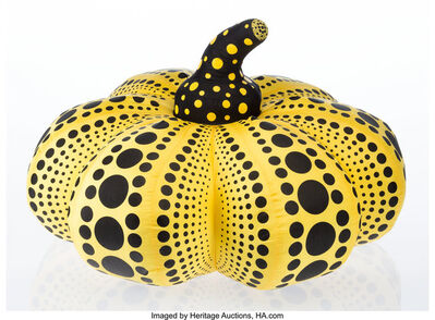 After Yayoi Kusama, 'Pumpkin (Yellow)', 2012