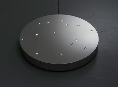 Tatsuo Miyajima, 'Moon in the Ground no.5', 2015