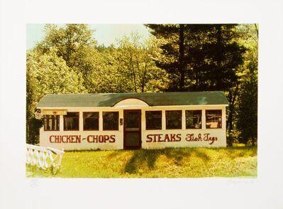 John Baeder, 'Chicken, Chops, Steaks', 1980
