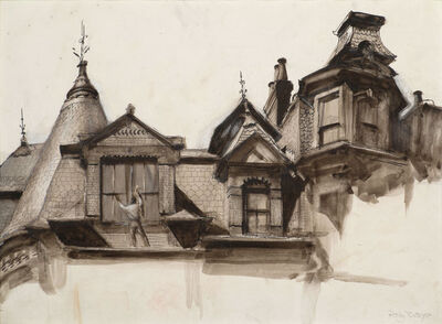 Polly Thayer Starr, 'Clarendon Street Opposite Trinity Church Rectory', 20th Century