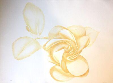 Giacomo Porzano, 'Yellow Rose', 1972