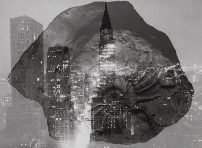 Barbara Morgan, 'Fossil in Formation', 1965