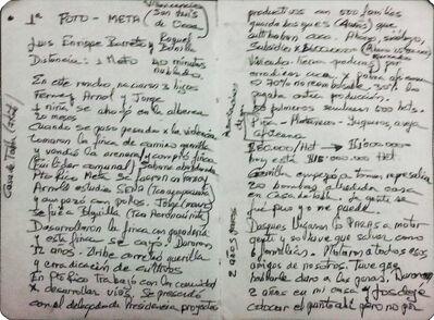 Marcos Avila Forero, 'NOTES TESTIMONIES DON LUIS - SAN LUIS DE OCOA', 2015