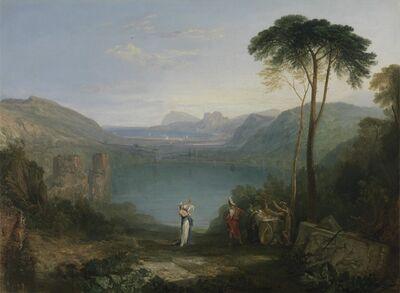 J. M. W. Turner, 'Lake Avernus: Aeneas and the Cumaean Sybil', 1814-1815