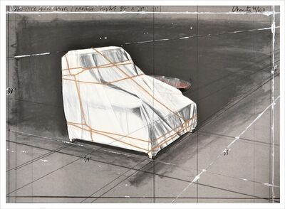 Christo and Jeanne-Claude, 'Wrapped Armchair, Project ', 1990