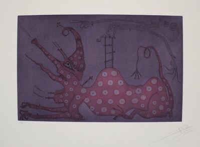 Joan Ponç, 'Esfinx Acrobática / Acrobatic Sphinx', 1975