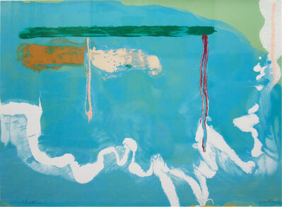 Helen Frankenthaler, 'Skywriting', 1997