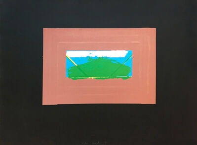 Howard Hodgkin, 'Indian Views – Plate G', 1971