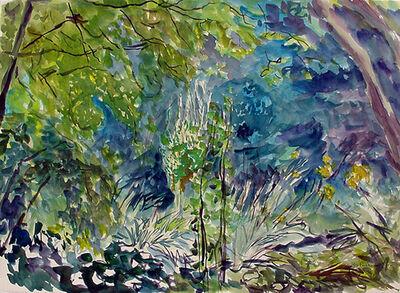 Rebecca Perehudoff, 'Lithrum in Blue', 1994