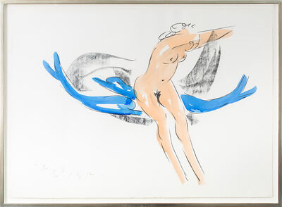 Reuben Nakian, 'Nymph and Dolphins', 1982-1985