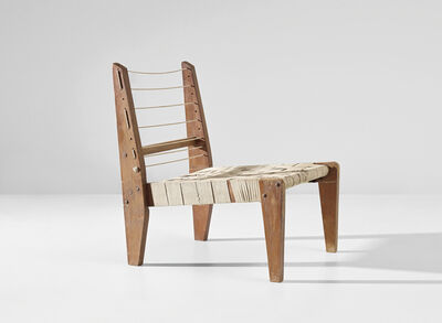 Pierre Jeanneret, 'Demountable easy chair, model no. PJ-SI-08-A, designed for the architect's own house, Chandigarh', 1953-1954