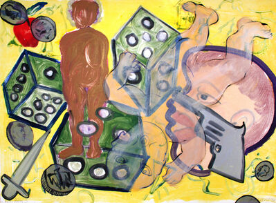 Joyce J. Scott, 'Dice Baby 3', 1999