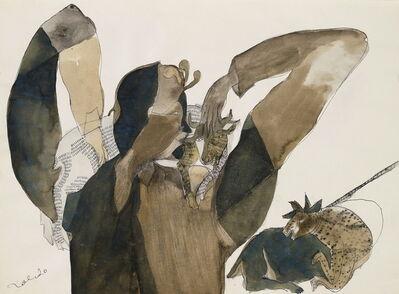 Francisco Toledo, 'Niño con Vacas (Boy with Cows)', ca. 1977