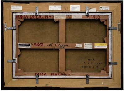 Philippe Gronon, 'Verso n°43, Le nue Jaune par Sonia Delaunay, collection du Musée des beaux-arts de Nantes', 2010