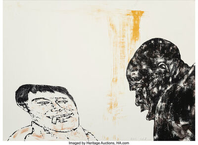 Leon Golub, 'Encounter', 1986