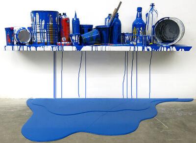 Jorge Magyaroff, 'Escenario Azul oscuro (1)', 2014