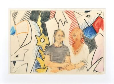 Larry Rivers, 'Roy and Dorothy Lichtenstein', 1981